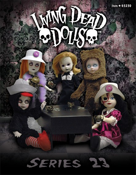 Living Dead Dolls Serie 23 Puppen Set 27 cm
