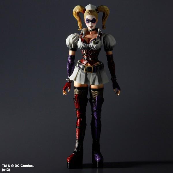 Batman Arkham Asylum Play Arts Kai Actionfigur Harley Quinn 23 cm