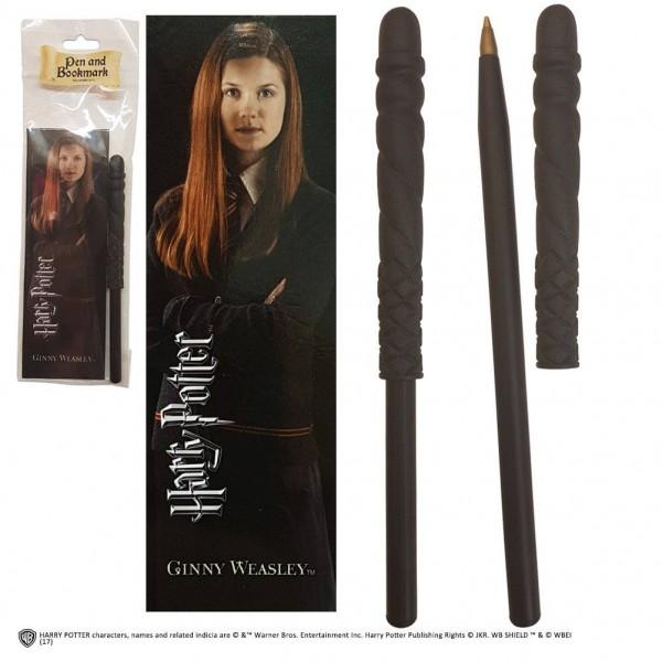 Originelle Nachbildung des Zauberstabs aus den ´Harry Potter´ Filmen als schreibfähiger Stift. Die Lieferung erfolgt mit einem Lesezeichen.
