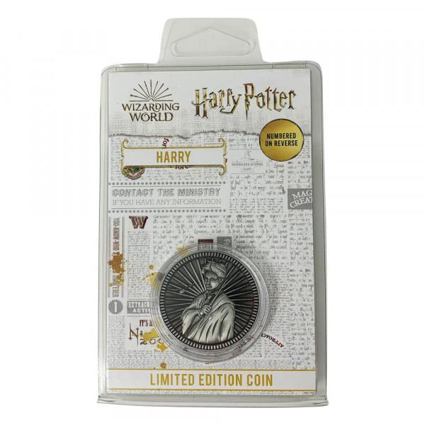 Offiziell lizenzierte Sammelmünze. Das Sammlerstück ist auf 9995 Stück limitiert und nummeriert. Durchmesser: 3,8 cm