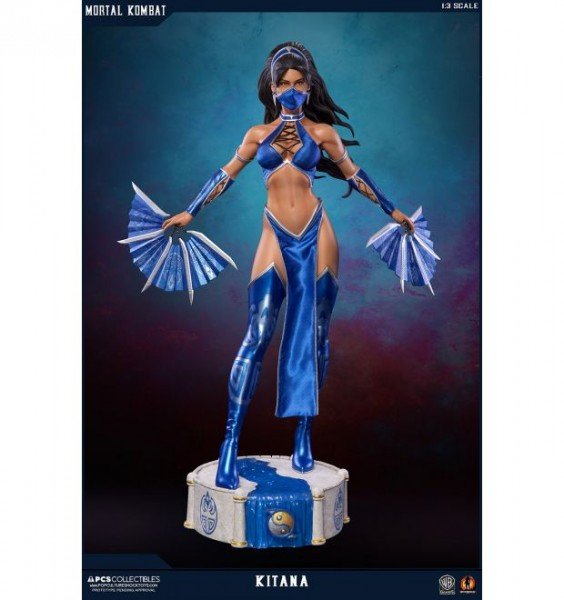 Mortal Kombat 9 Mixed Media Statue 1/3 Kitana 71 cm