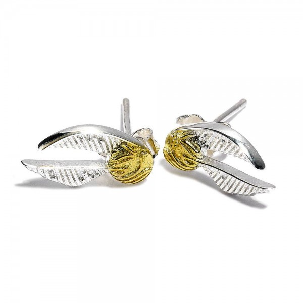Zu Harry Potter kommen diese schönen Ohrringe aus versilbertem Metall. Sie sind auf einer Blisterkarte verpackt. Eine Bereicherung für jede Abendgarderobe!\n\nGröße: 15 mm