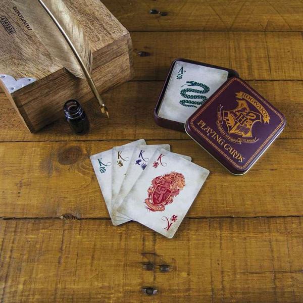 Harry Potter Spielkarten Hogwarts