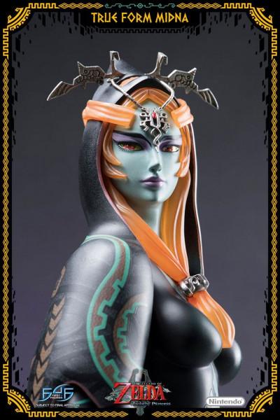 """Zum Videospiel """"The Legend of Zelda: Twilight Princess"""" kommt diese limitierte Statue von Prinzessin Midna in ihrer wahren, menschlichen Form aus hochwertigem Polystone. Das handnummerierte Sammlerstück ist ca. 43 x 23 x 23 cm groß und wird, styropor-gesc"""