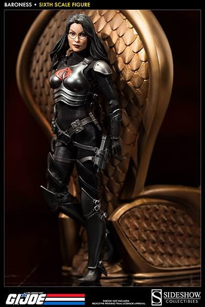 G.I. Joe Actionfigur 1/6 Baroness 30 cm