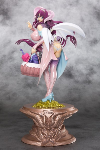 Seven Deadly Sins Greed Statue 1/8 Mammon Faint Pink 25 cm