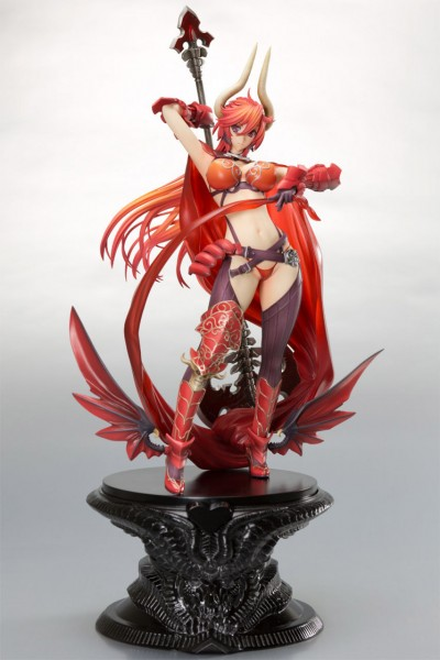 Seven Deadly Sins Wrath Statue 1/8 Satan Clear File Set 26 cm