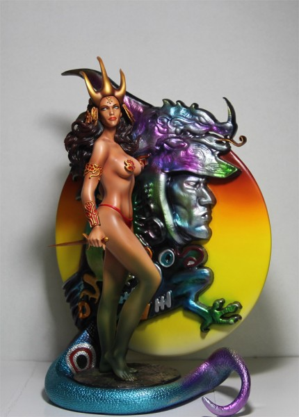 Fantasy Figure Gallery Statue 1/6 Dragon Maiden (Boris Vallejo) Web Limited Ver. 34 cm