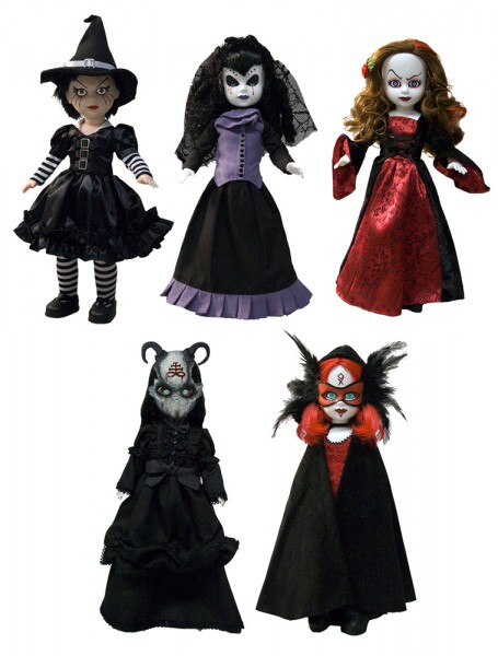 Living Dead Dolls Serie 26 Season of the Witch Puppen (Set) 25 cm