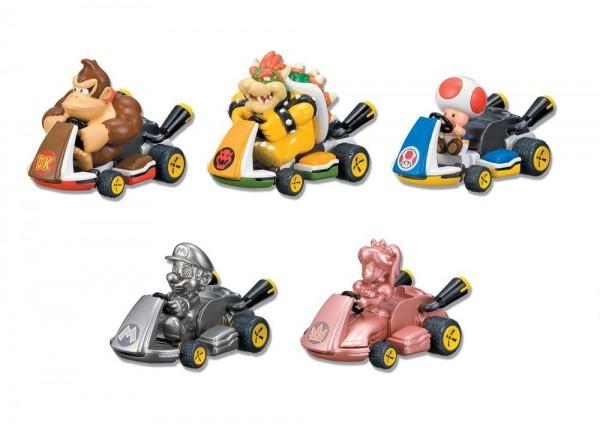 Mario Kart 8 Rückzug-Autos ( 5 Stück )