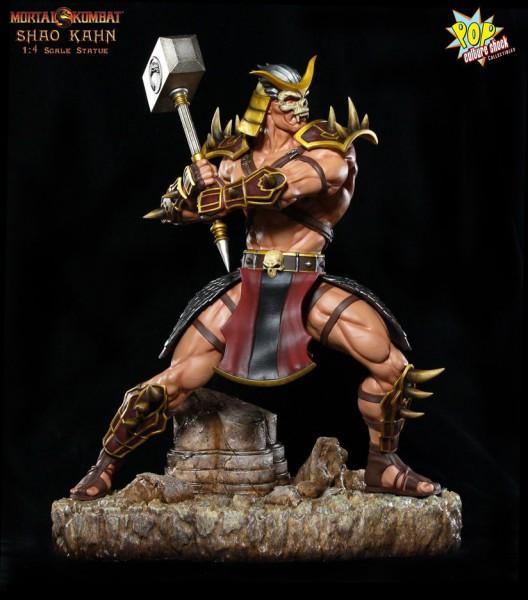 Mortal Kombat 9 Shao Kahn 1:4 Scale Statue Pop Culture Shock