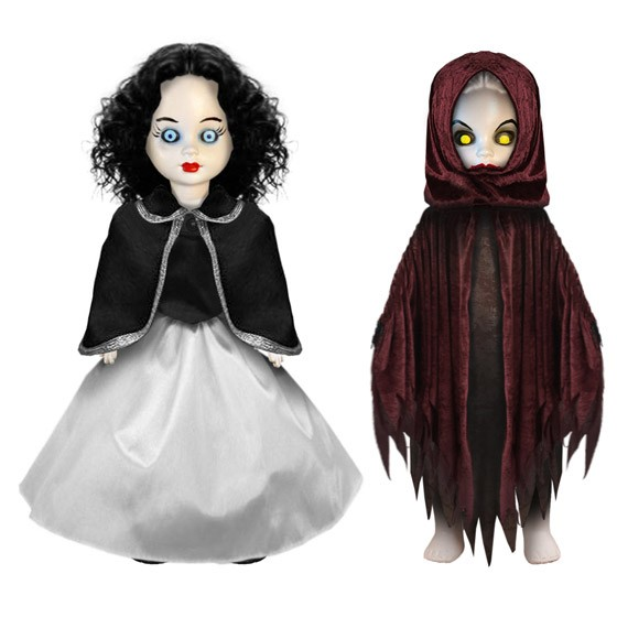Living Dead Dolls Scary Tales Serie 4 Snow White & The Evil Queen Puppen