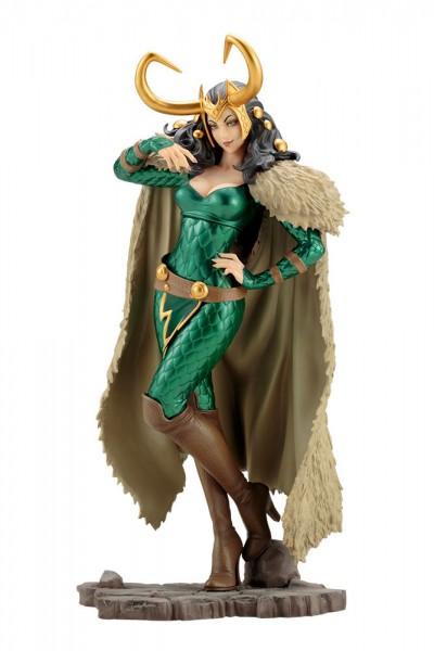 Aus Kotobukiyas beliebter ´Bishoujo´-Reihe kommt diese aufregende PVC Statue von Loki.Die von Shunya Yamashita entworfene Statue ist ca. 25 cm groß und wird mit ansprechender Base in einer Fensterbox geliefert.